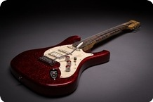Bassart Guitars Barracuda Sparkle Red