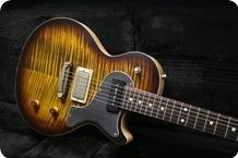 Nik Huber Guitars Krautster II Custom Tigereye Burst