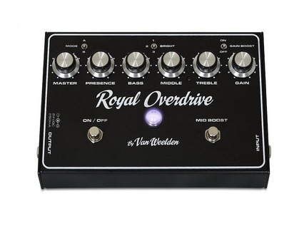 Van Weelden Amplification Royal Overdrive Black