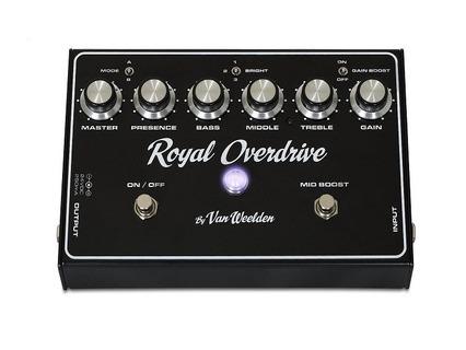 Van Weelden Amplification Royal Overdrive Black
