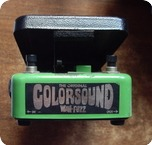 Colorsound Fuzz Wha 1990