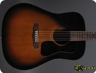 Guild D 25 SB 1980 Sunburst