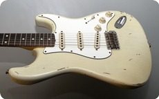 Fender Custom Shop 1962 RELIC STRATOCASTER DENNIS GALUSZKA MASTERBUILT 2012
