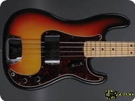 Fender Precision P Bass 1971 3 tone Sunburst