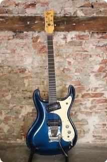 Mosrite The Ventures 1966 Blue