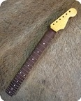 Allparts Fender Lic. 1962 69 Strat Neck Aged By Monster Relic Rare 2015 Maple Neck With Rosewood Fretboard