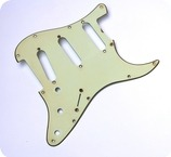 GuitarSlinger Parts Aged 62 SC Pickguard Mint Green 3 Ply 1035 Fits To Strat 2015 Mint Green