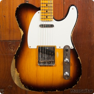 Fender Custom Shop Telecaster 2015 Two Tone Sunburst