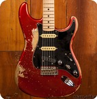 Fender Custom Shop Stratocaster 2017 Candy Apple Red