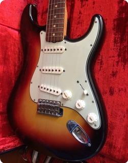 Fender Stratocaster 1964 3 Colour Sunburst