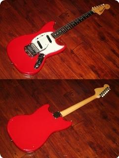 Fender Mustang 1964 Red