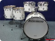 Ludwig USA Classic Maple Shellset 2015 White Marine Pearl