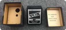 Vox Treble Bass Booster 1960