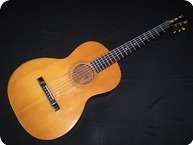 George Washburn Parlour Guitar 1895 Natural