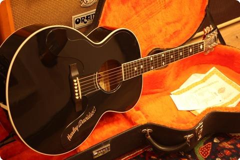 Gibson J185  'harley Davidson' 1994 Black
