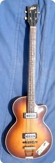 Hofner 500/2 Club Bass 1967 Sunburst