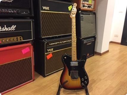 Fender Telcaster Custom 1975 Sunburst