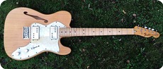 Fender Telecaster Thinline Ex John Squire THE STONE ROSES 1973 Natural