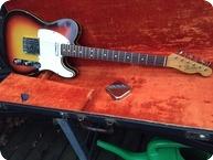 Fender Telecaster Custom 1965 3 Tone Sunburst