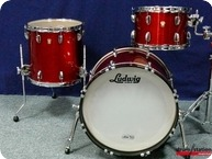 Ludwig USA Classic Maple 2015 Red Sparkle Wrap