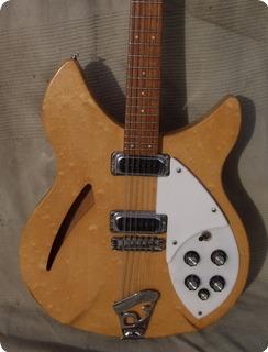 Rickenbacker 330/12  330 12 12 Strings 1977 Mapleglo