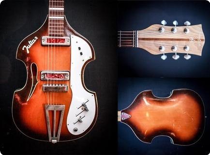 Defil Julia Ii Violin Guitar 1960 Sunburst
