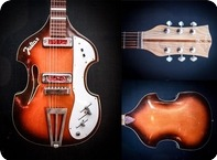 Defil Julia II Violin Guitar 1960 Sunburst