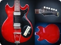 Hofner Colorama II 1961 Cherry