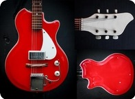 Supro Belmont Resolglass 1960 Red