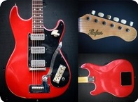 Hofner Super III 1961 Red