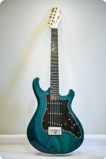 Pd Guitars Strat 2016 Blue/green