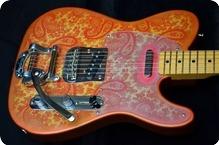 Keller Guitars 1968 Pink Paisley 2015 Pink Paisley