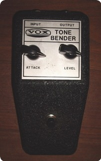 Vox Tone Bender V828 1968 Black Metal Box