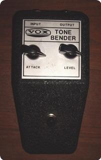 Vox Tone Bender V828 1968 Black Metal Box