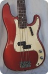 Fender Precision Bass C.A.R. 1968 Candy Apple Red CAR
