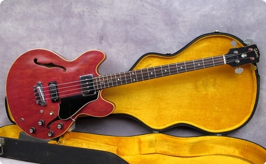 Gibson Eb2d 1966 Cherry Red