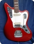 Fender-Jaguar CAR Custom Color-1966-Candy Apple Red CAR