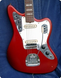 Fender Jaguar Car Custom Color 1966 Candy Apple Red Car