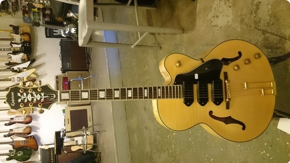 Epiphone Zephyr Blues Deluxe 2006 Nature