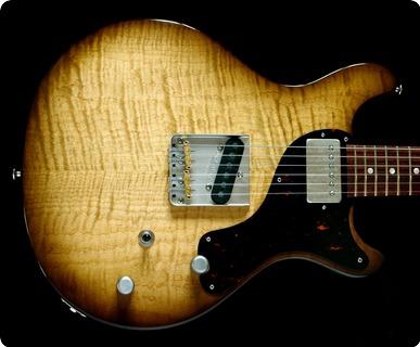 Deimel Guitarworks Doublestar Rawtone »tobacco Sunburst« Tobacco Sunburst
