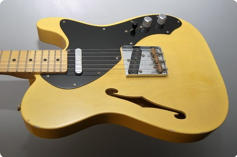 Fender Custom Shop C.shop 51 Thinline Nocaster Chris Fleming Masterbuilt 2003