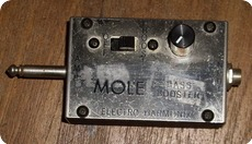 Electro Harmonix Mole Bass Booster 1970 Metal Box