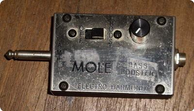 Electro Harmonix Mole Bass Booster 1970 Metal Box
