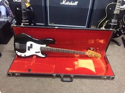 Fender Factory Custom Colour Precision Bass 1971 Black (factory Colour)