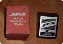 Jen REPEAT PERCUSSION PE 404 1967 Black Metal Box