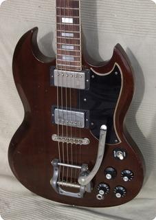 Gibson Sg Standard 1972 Walnut