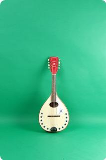 Harmony Bicentennial Mandolin  1976 White
