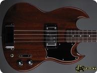 Gibson EB4L Longscale 1973 Cherry