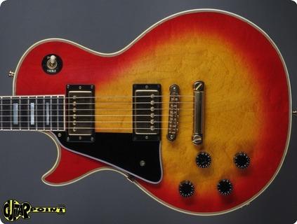 Gibson Les Paul Custom   Lefty 1981 Cherry Sunburst