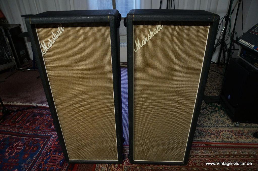 marshall model 1969 4x12 pa columns 1970 black amp for sale vintage guitar oldenburg